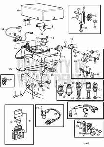 Volvo Penta Exploded View    Schematic Electrical System  B
