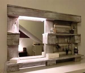 Regal Mit Spiegel : regal schrank aus paletten interessante ideen f r die gestaltung eines raumes in ~ Sanjose-hotels-ca.com Haus und Dekorationen