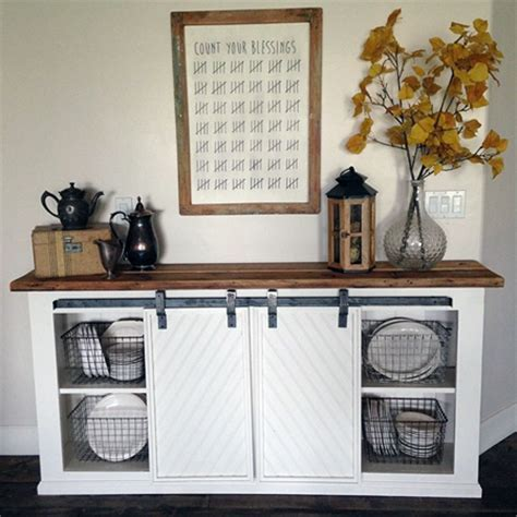 Fabulous Farmhouse Style Console DIY's   The Cottage Market