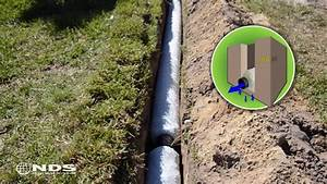 Easy Flow Drainage : ez drain french drain installation the gravel free alt doovi ~ Frokenaadalensverden.com Haus und Dekorationen