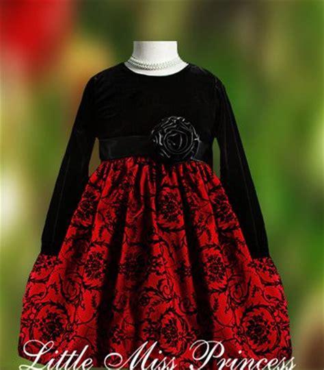 black velvet girls christmas dress christmas pinterest