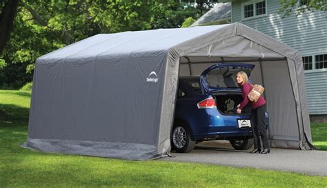 Garage Voiture by Garage D 233 Montable Voiture Shelterlogic Promo