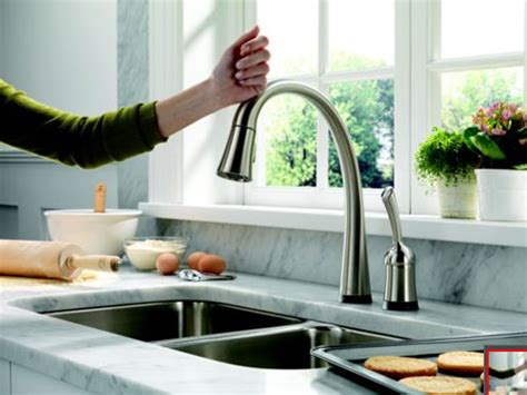 Delta Pilar Touch Faucet Not Working by Delta Pilar Pull Kitchen Faucet With Touch2o