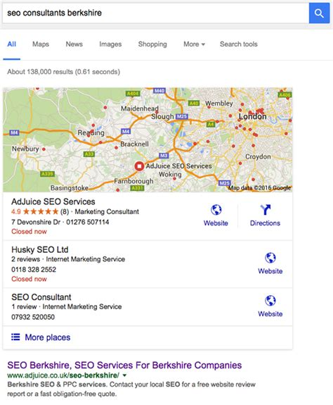 Seo Search Results - seo berkshire seo services for berkshire companies