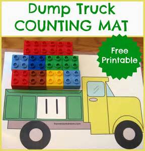 free printable counting mat the measured mom