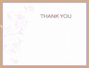 thank you note template venturecapitalupdatecom With thank you card letter