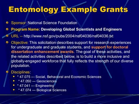 Doctoral Dissertation Improvement Nsf by Nsf Doctoral Dissertation Improvement Grant Biological