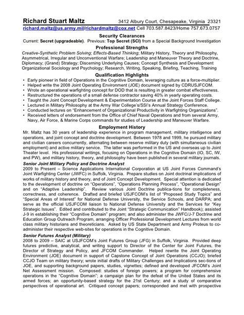 chesapeake resume