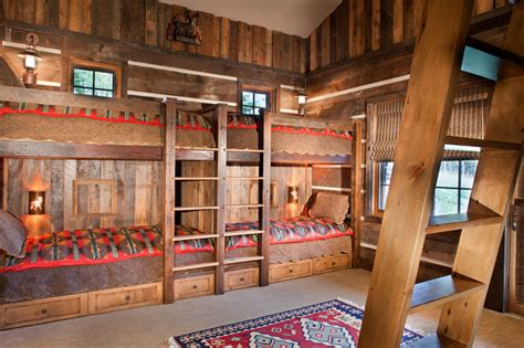 kids cabin theme bedrooms rustic mine style rustic mountain lodge rustic kids other