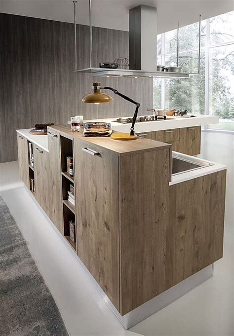 gorgeous kitchen blends sleek minimalism   chic eco