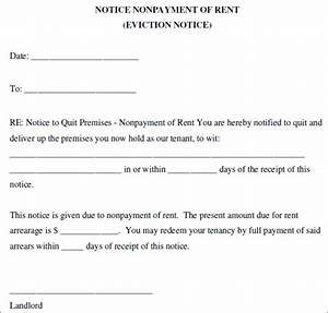 28 lease termination letter template free word pdf for Eviction notice letter pdf