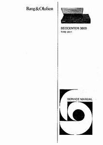 Bang Olufsen Beogram 1200 Service Manual Download