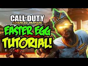 EXO ZOMBIES 'DESCENT' EASTER EGG TUTORIAL - FULL 'REUNION ...