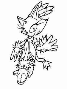 Dibujos para colorear Sonic