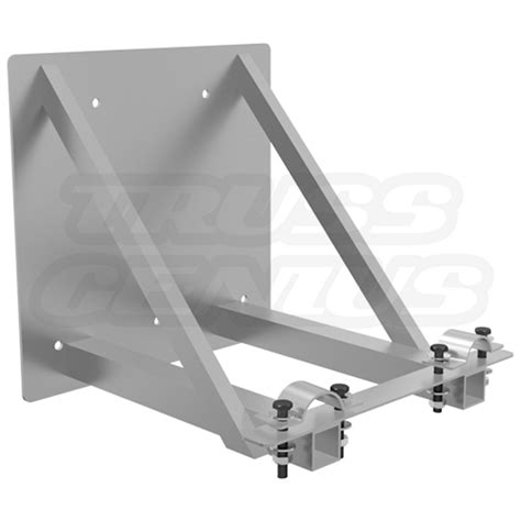 wall mount lighting truss dt wm34 truss wall mount fits f33 and f34 square aluminum
