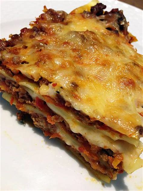 recette de lasagnes maison par train22