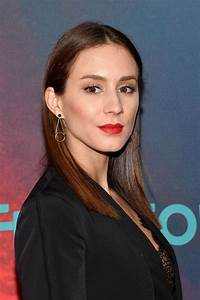 Troian Bellisario at Freeform Upfront in New York 4/19/2017