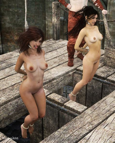 Rule 34 2girls 3d Arms Behind Back Execution Hanging