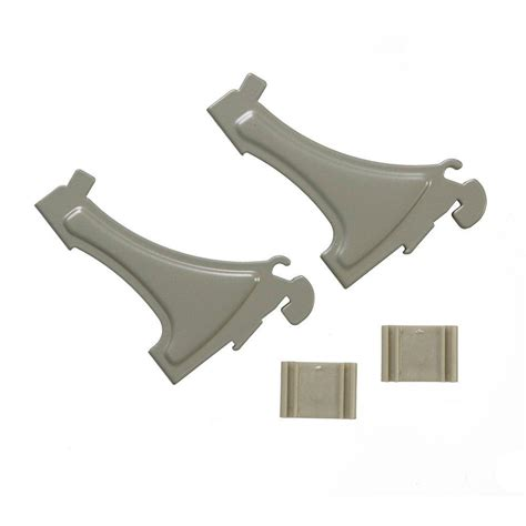 Closetmaid Support Brackets by Closetmaid Shelftrack Wire Shelving Shoe Support Bracket