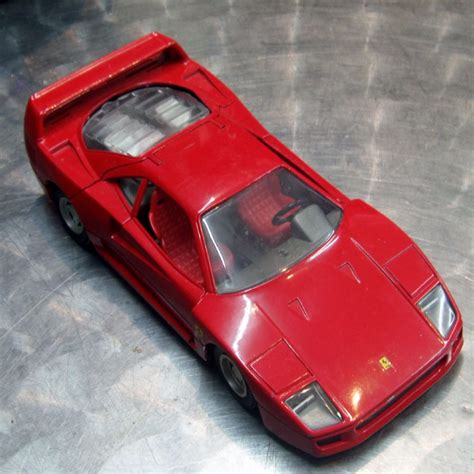 There will be a limited run of 1,000 units so get your car now. ITEM POLISTIL ferrari f40 they made in good size 1 24 scale made in italy in the 1980 s made ...