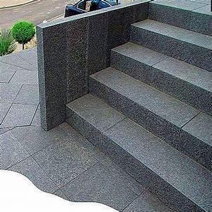 Granit Pflastersteine Größen : granit blockstufen anthrazit 18 x 35 cm natur steine org ~ Buech-reservation.com Haus und Dekorationen