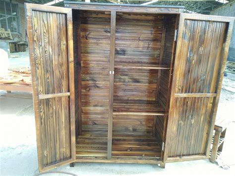 Outdoor Storage Cupboards by Outdoor Cabinets For Patio Garden Storage Cabinet Wooden