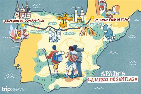 camino to santiago de compostela spain s camino de santiago how the trip takes