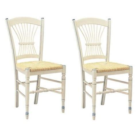 chaise de cuisine blanche chaise paille blanche dans divers achetez au meilleur prix