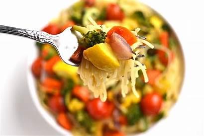 Pasta Garlic Vegetable Lemon Roasted Vegetables