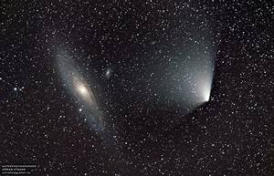 Andromeda Galaxy in the Night Sky - Pics about space