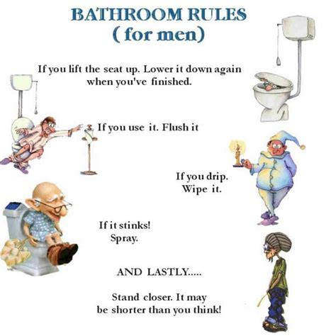 Bathroom Etiquette Signs Office Bathroom Etiquette Signs