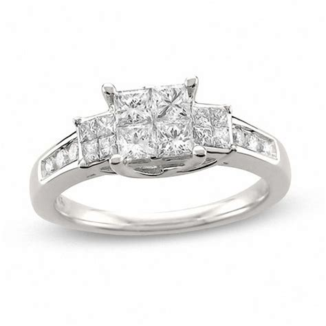 zales princess cut wedding rings zales princess cut