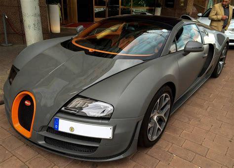 matte grey bugatti veyron vitesse spotted  germany