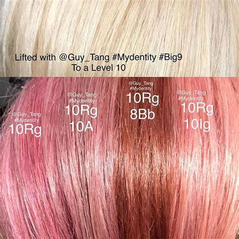 hairbesties recipe   shades  rose gold tones