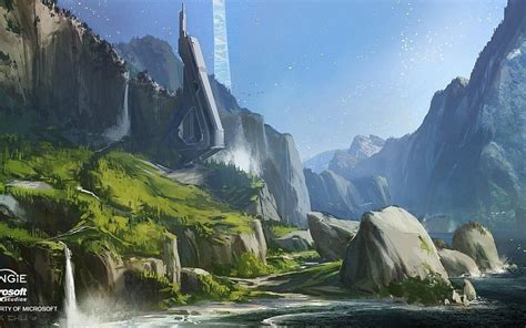 telecharger  jeux video montagnes paysages