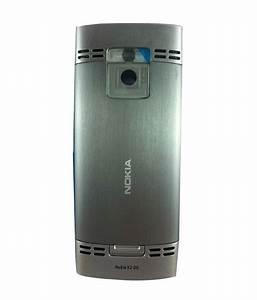 Original Full Housing For Nokia X2-00 - Silver