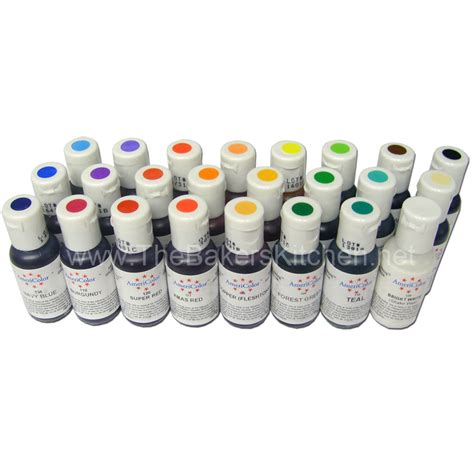 food colors americolor gel food coloring chart food