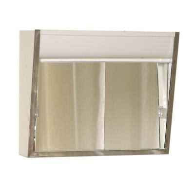 home depot medicine cabinets with lights zenith premium lighted sliding door 24 in x 20 in