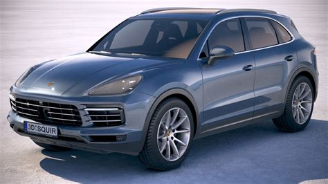 2020 Porsche Cayenne Model by Porsche Cayenne 2018 3d Model Turbosquid 1215008