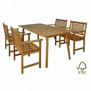 Gartentisch Mit Stühlen : gartentisch set akazienholz mit 4 st hlen ~ A.2002-acura-tl-radio.info Haus und Dekorationen