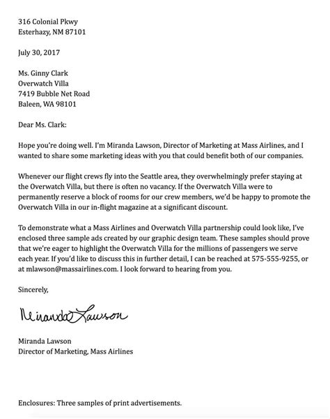 writing a business letter formal business letter how to format cover letter 11794