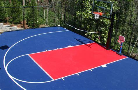 Outdoor Sports Tiles Basketball Court