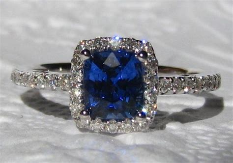 ideas about blue sapphire rings on