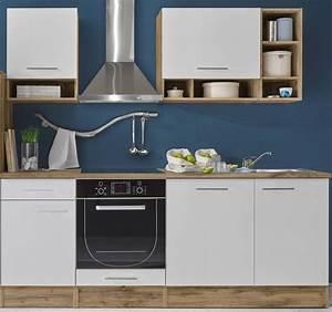 Kuche mad kuchenblock kuchenzeile komplettkuche 220cm for Komplettküche