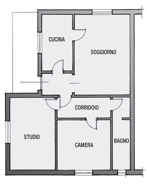 Disegnare Arredamento by Creare Piantina Casa