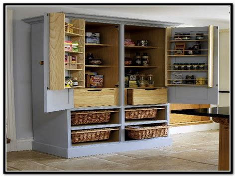 free standing kitchen cabinets lowes stand alone pantry cabinets roselawnlutheran
