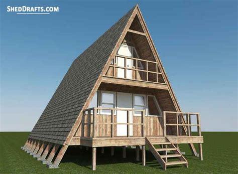 frame cabin shed plans blueprints  craft  home shed