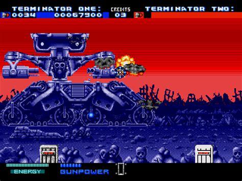 terminator   arcade game  game gamefabrique