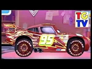 Cars Lightning McQueen NEON Unlocked Vs Holley Yokoza