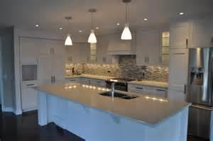 shaker kitchen ideas modern white shaker kitchen modern kitchen calgary by michael burr design